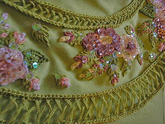 схемы вышивка бисером паетками